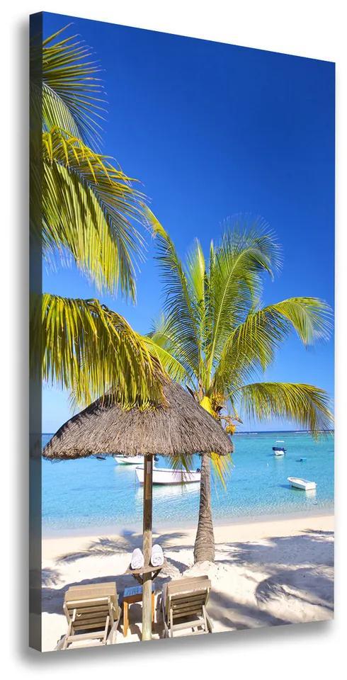 Tablou pe pânză Plaja tropicala