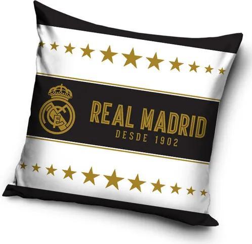 Față de pernă Real Madrid Gold Stars, 45 x 45 cm