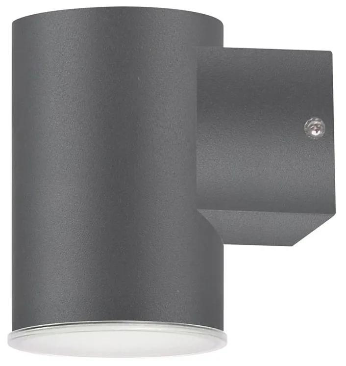 Aplica perete exterior LED NIVERO LED/6,5W IP44 antracit