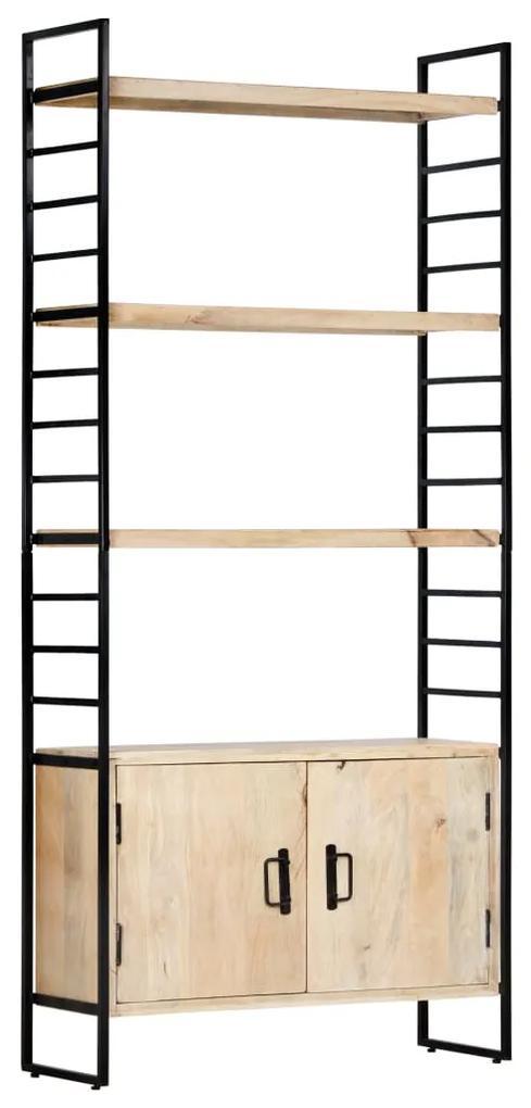 284421 vidaXL Bibliotecă cu 4 niveluri 80x30x180 cm lemn masiv de mango