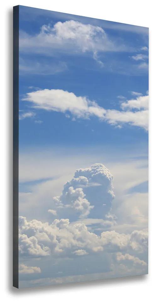Pictură pe pânză Nori pe cer
