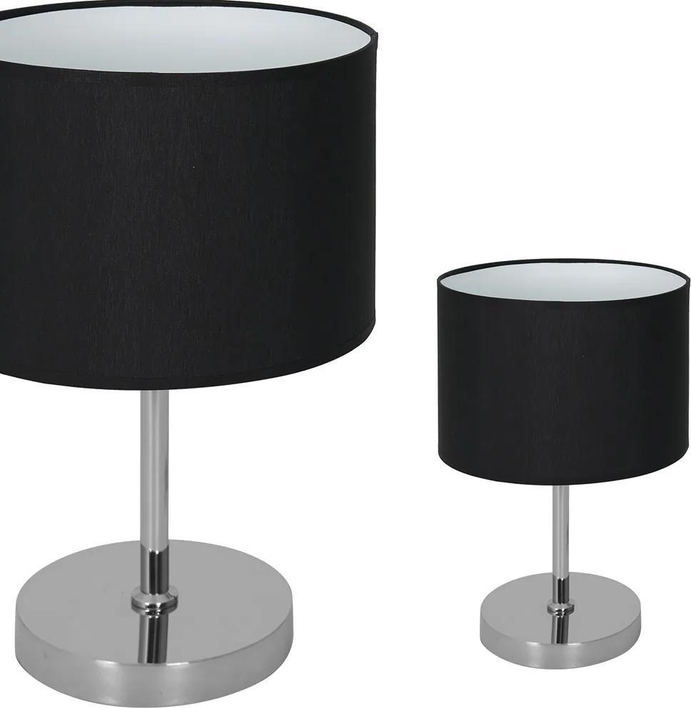 Veioza CASINO BLACK Milagro Modern, E27, Argintiu, ML6381, Polonia