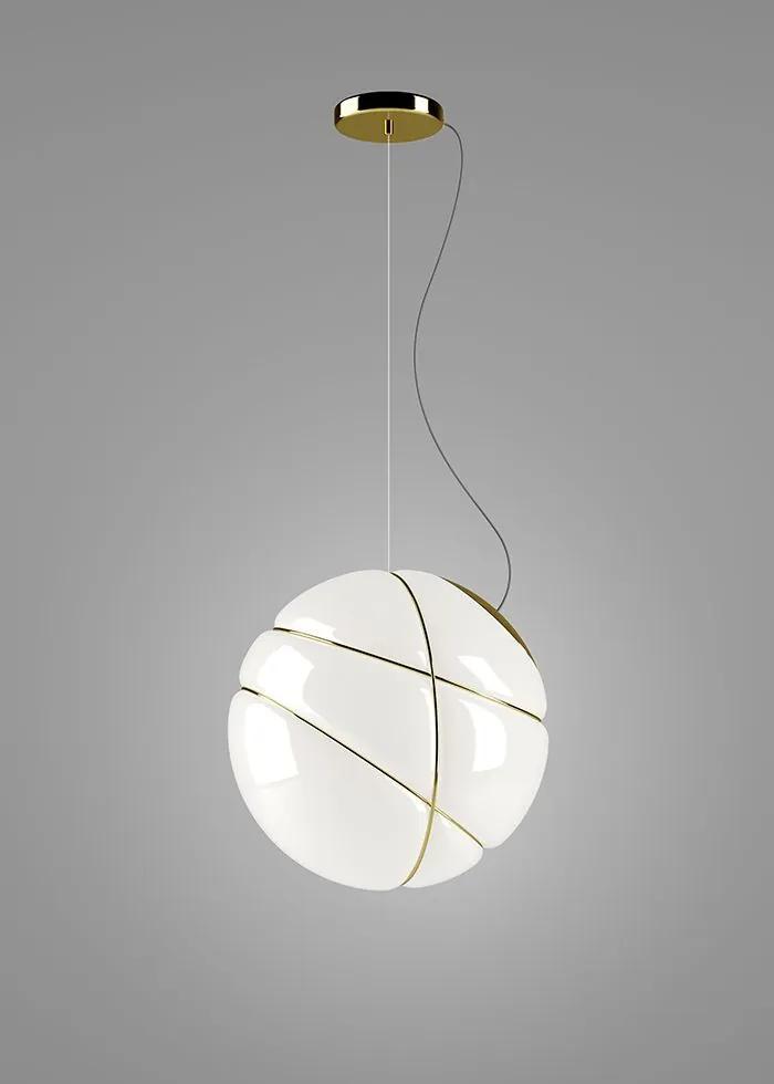 Armilla Auriu - Pendul sferic din sticlă