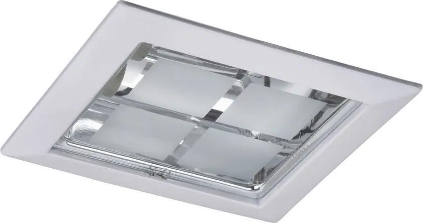 Rábalux Spot office 1131 Spoturi incastrate - tavan alb E27 2x MAX 26W 230 x 230 mm