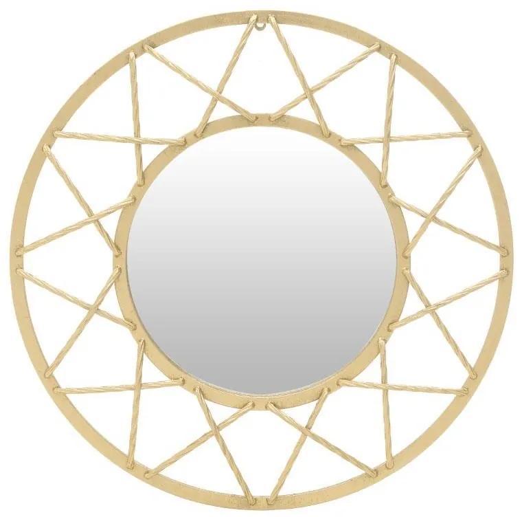 Oglinda de perete Golden Circle 70 cm