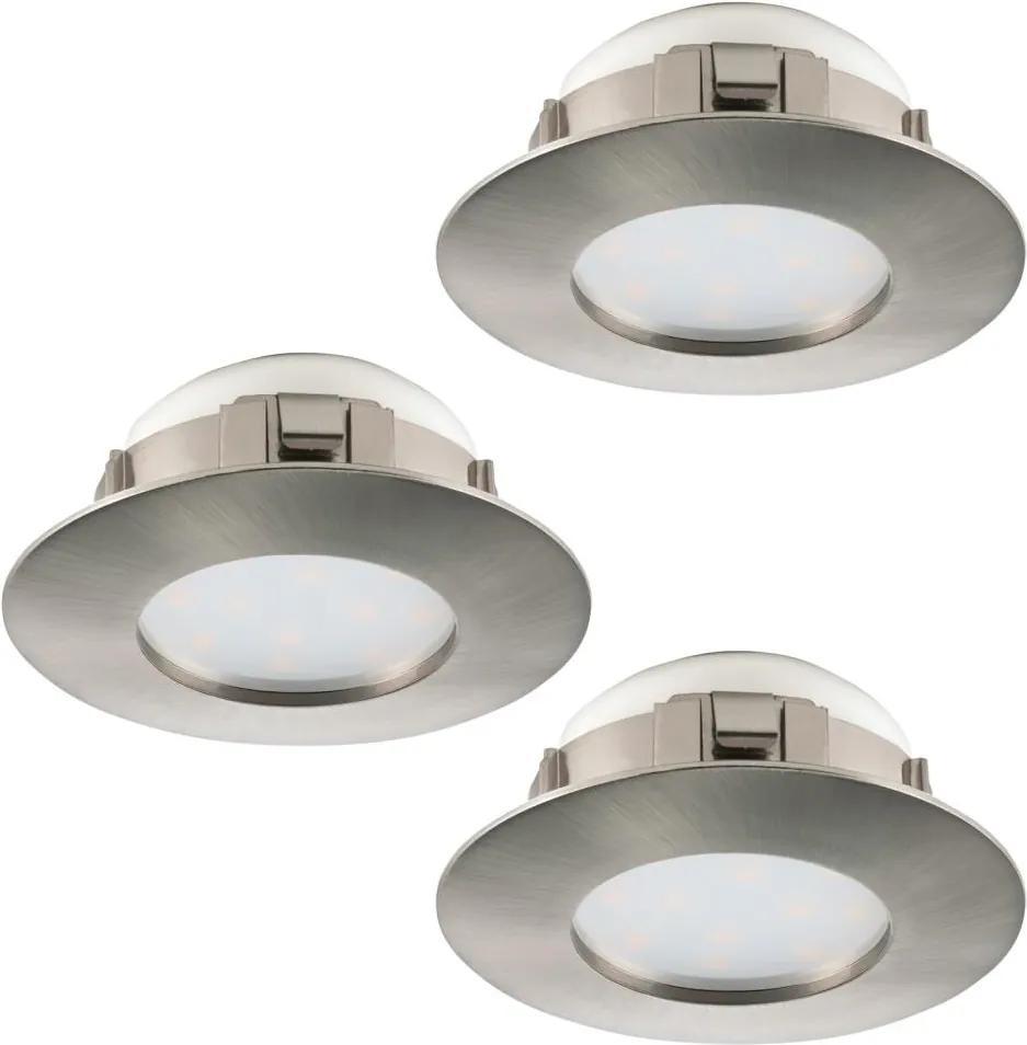 Eglo 95823 - SET 3x Corp de iluminat LED tavan fals PINEDA 3xLED/6W/230V
