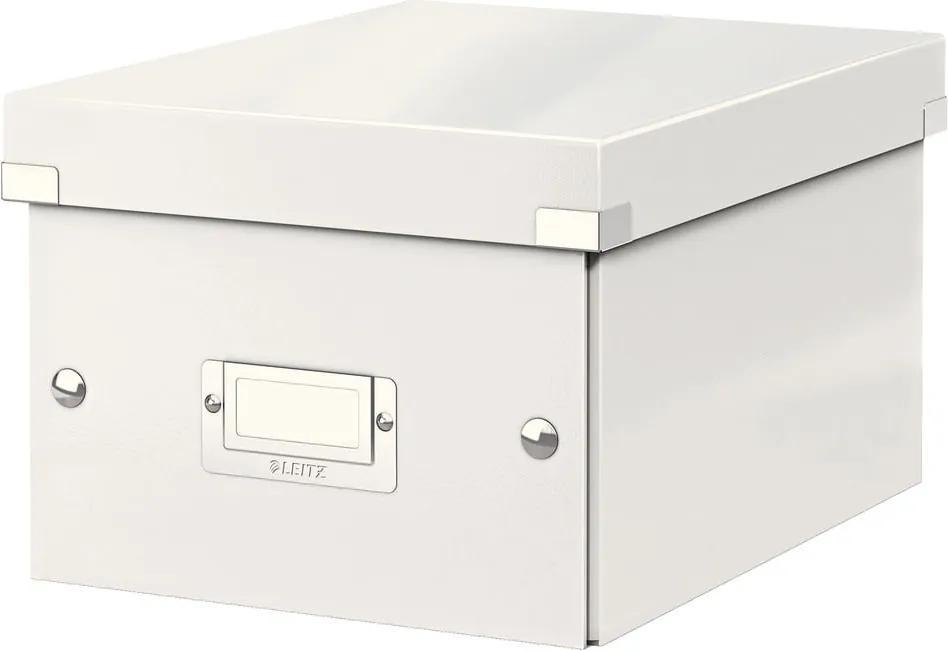 Cutie depozitare Leitz Universal, lungime 28 cm, alb