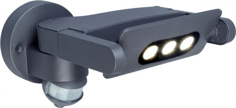 Lutec 5614404118 Aplice pentru iluminat exterior MINI LEDSPOT gri închis aluminiu Cree XPE 605lm 4000K IP54 A+