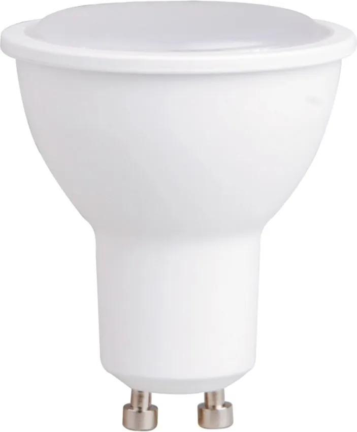 Bec LED lumina calda, durata lunga de viata GU10 6W
