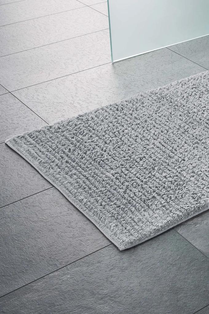 Covor pentru baie Agra, gri 60x100 cm