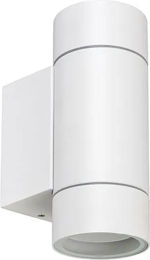 Rábalux Phoenix 8121 Aplice de exterior alb mat transparent GU10 2X MAX 10W
