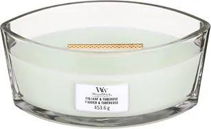 WoodWick parfumata lumanare Fig Leaf & Tuberose barca