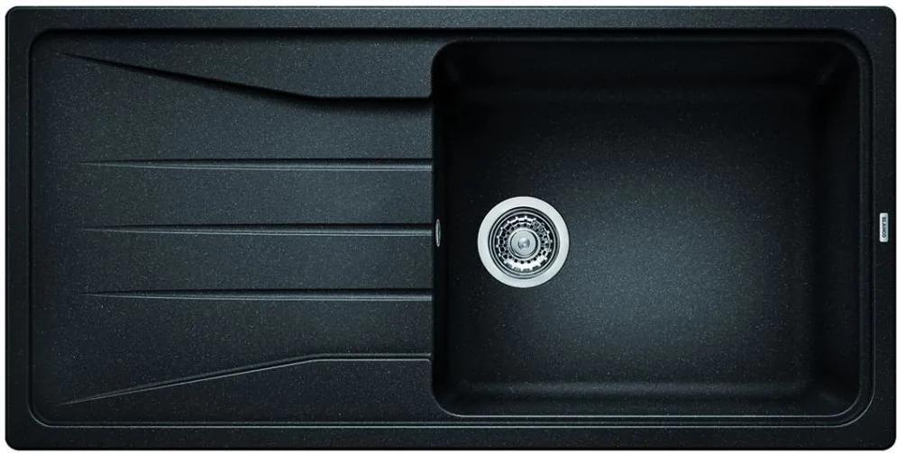 Chiuveta de bucatarie Blanco SONA XL 6 S silgranit, antracit, 519689, 100 cm