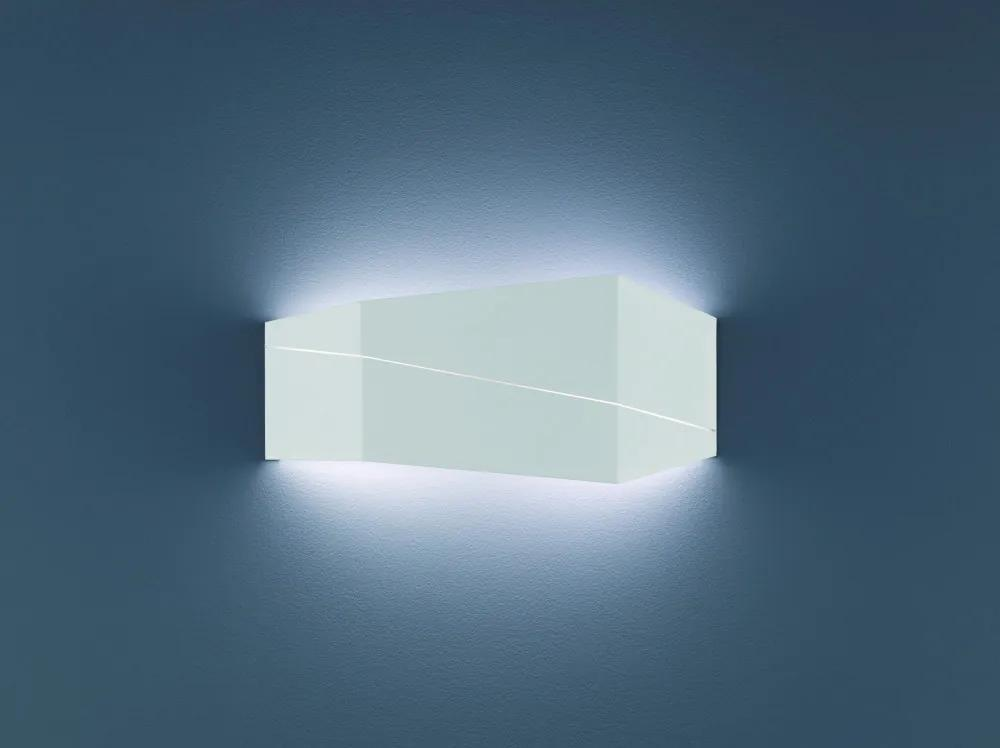 Trio 223210231 Aplice perete ZORRO alb mat metal incl. 1 x SMD, 13W, 3000K, 1000Lm 1000lm IP20 A+