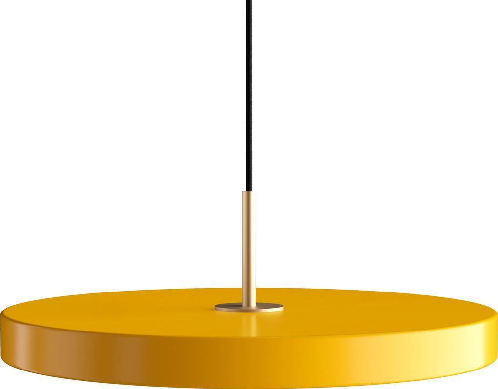 Lampă suspendată Asteria saffron yellow Ø 43 x 4 cm - UMAGE