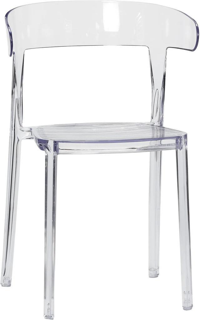 Scaun din Plastic Transparent - Plastic Transparent Inaltime(81 cm) x Lungime(52 cm) x Latime (47 cm)