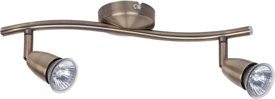 Rábalux Norman 5996 Plafoniere cu spoturi bronz GU10 2x MAX 50W 350 x 130 mm