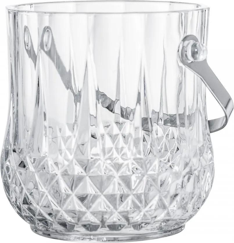Recipient transparent din sticla pentru gheata 1000 ml Ice Bucket Bloomingville