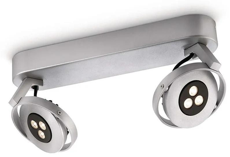 Philips 56422/48/16 - LED Spot TEQNO argint 2xHighPower LED/7,5W