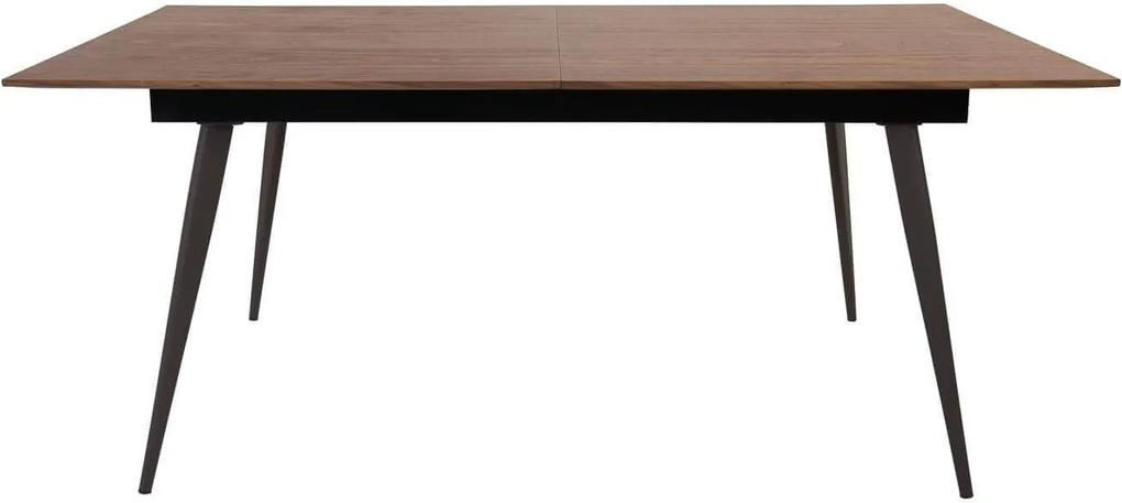 Masa Extensibila ABYSSE - MDF Negru Lungime(180 cm) x Latime(90 cm) x Inaltime(75 cm)
