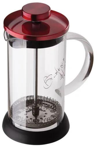 Infuzor pentru cafea si ceai 800 ml Burgundy Metallic Line Berlinger Haus BH 1498