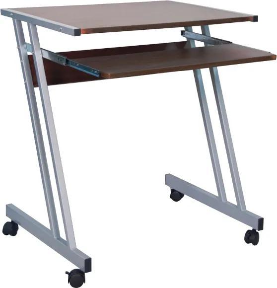 Masa de birou din MDF B233 Grey 60x48x73 cm