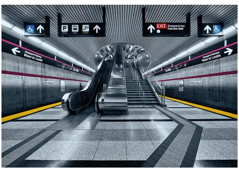 Fototapet urban Subway