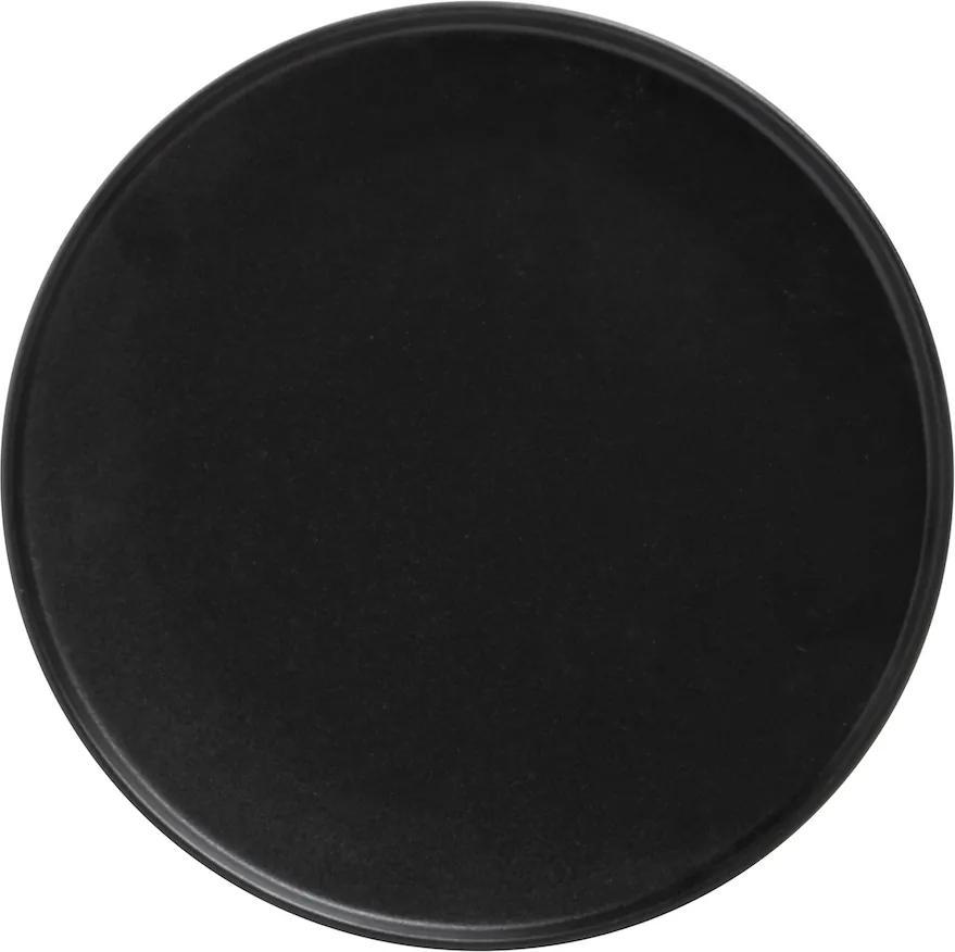 Farfurie neagră 26,5 cm - ediție Caviar - Maxwell & Williams
