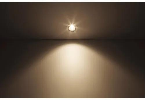 Spot incastrabil cu LED integrat Pomeron 7W 450 lumeni, 4000K, Ø90 mm, alb
