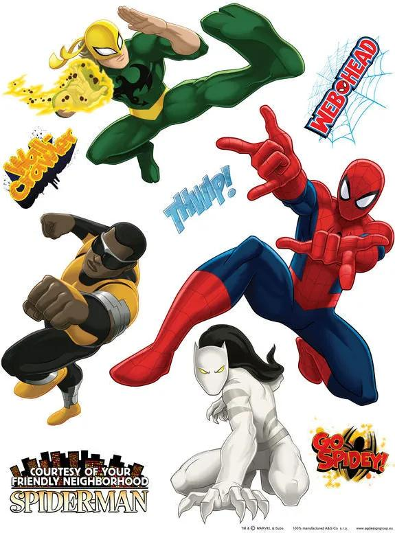 AG Design Marvel heroes - autocolant de perete 65x85 cm