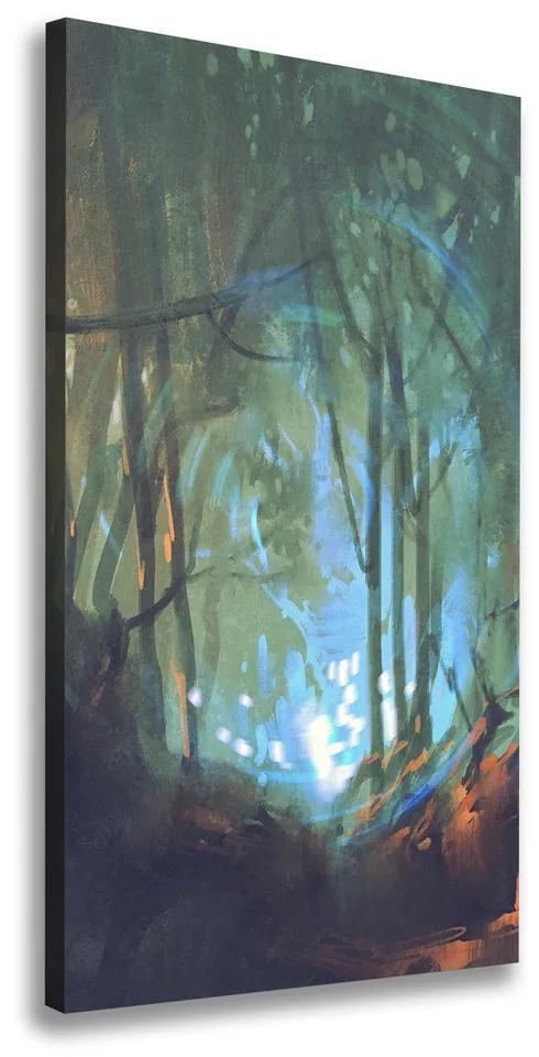 Tablou pe pânză canvas Pădure mistic
