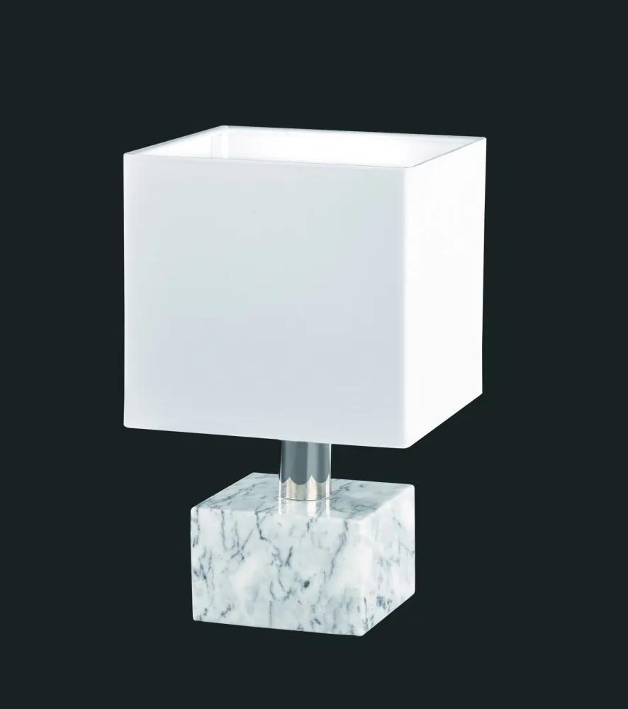 Trio 504000101 Lampa de masa de noapte DAYTONA alb excl. 1 x E14, max. 40W IP20