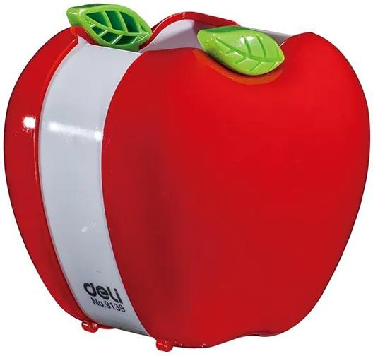 Suport pentru articole de scris Deli 9139 model fructe, rosu