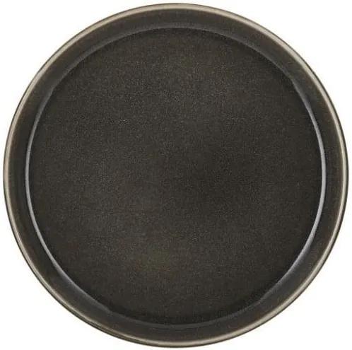 Farfurie adâncă din ceramică Bitz Mensa, diametru 21 cm, gri închis