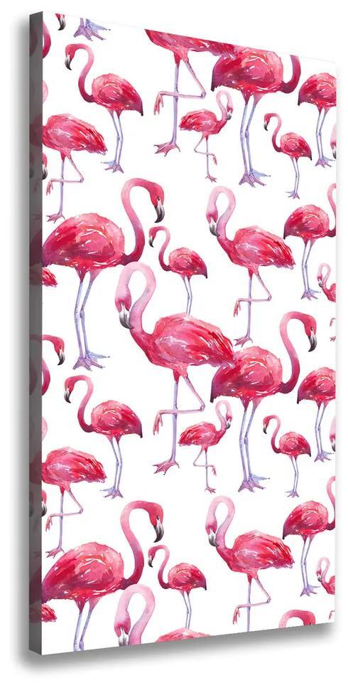 Tablou pe pânză Flamingos