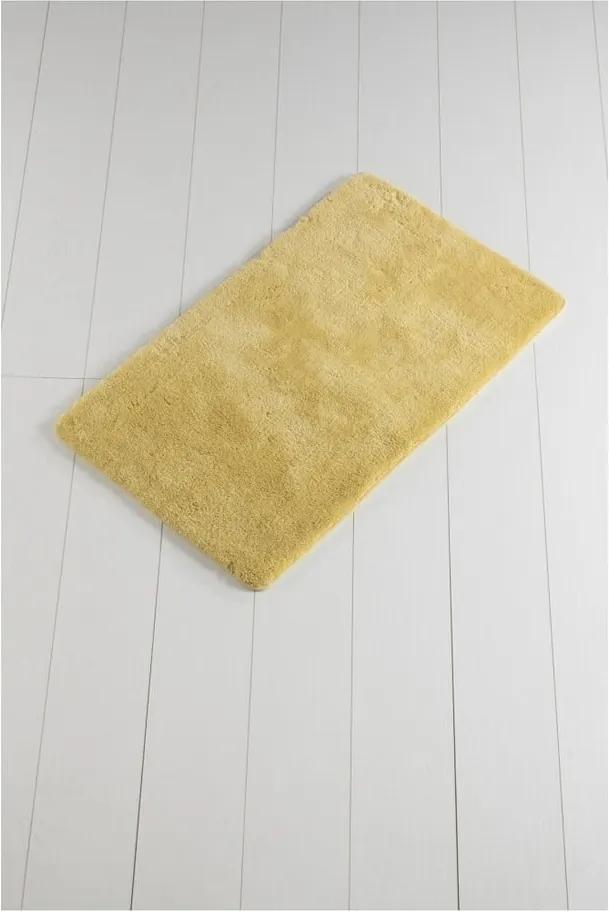 Covor baie Minto Duratto, 100 x 60 cm, galben