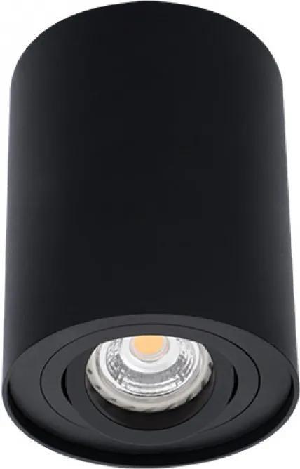 Kanlux 22552 Plafoniere cu spoturi Bord negru aluminiu 1 x GU10 max. 25W IP20