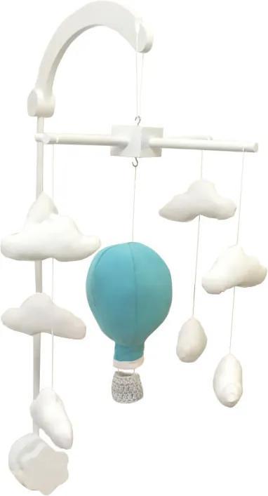 BABY Carusel Patut Balon cu aer cald Turcuaz
