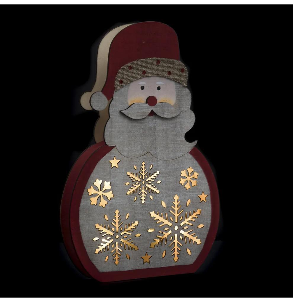 Decoratiune luminoasa Craciun JJA Pere Noel 30cm