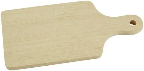 Tocător din lemn cu mâner Orion 43 x 19 cm