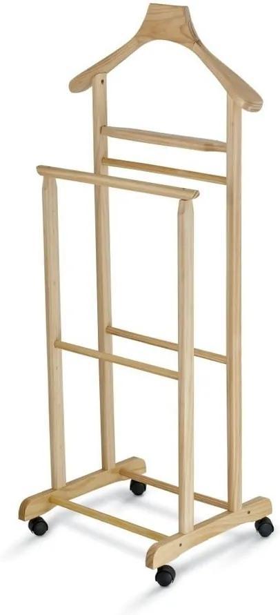 Valet din lemn pentru haine Domopak Living