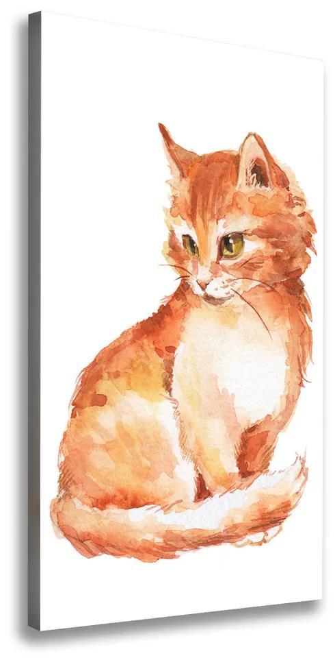 Tablou pe pânză Red Cat