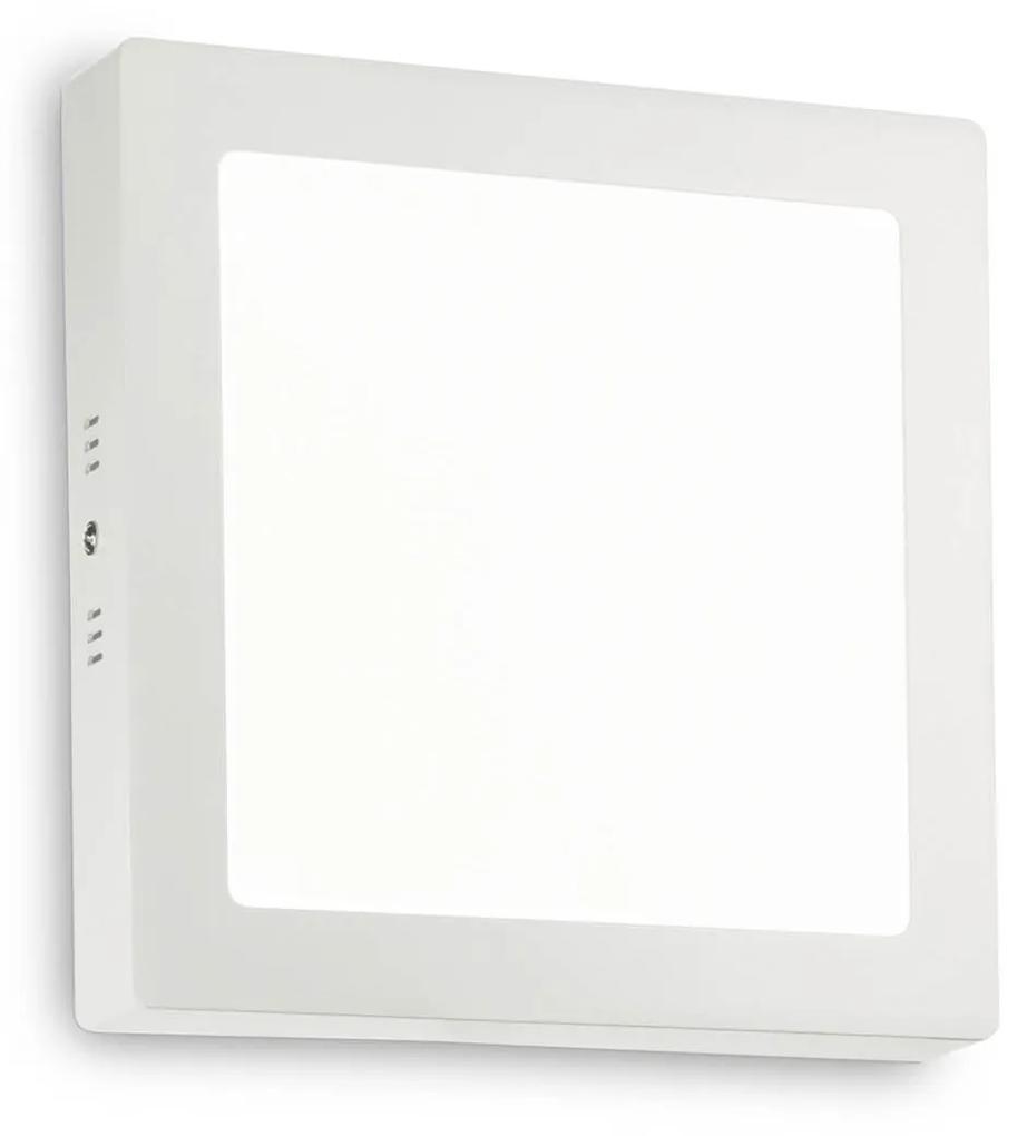 Aplica-UNIVERSAL-18W-SQUARE-BIANCO-138640-Ideal-Lux