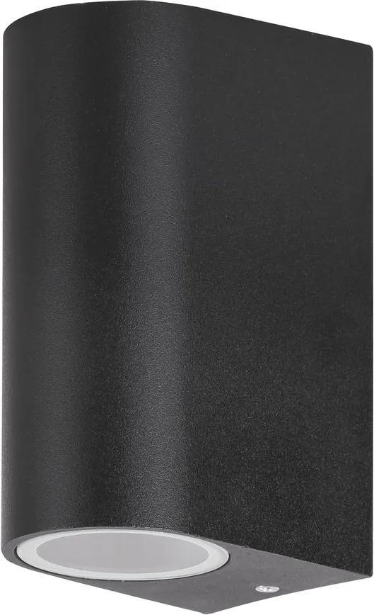 Rábalux Chile 8030 Aplice pentru iluminat exterior negru GU10 2x MAX 35W 65 x 145 mm
