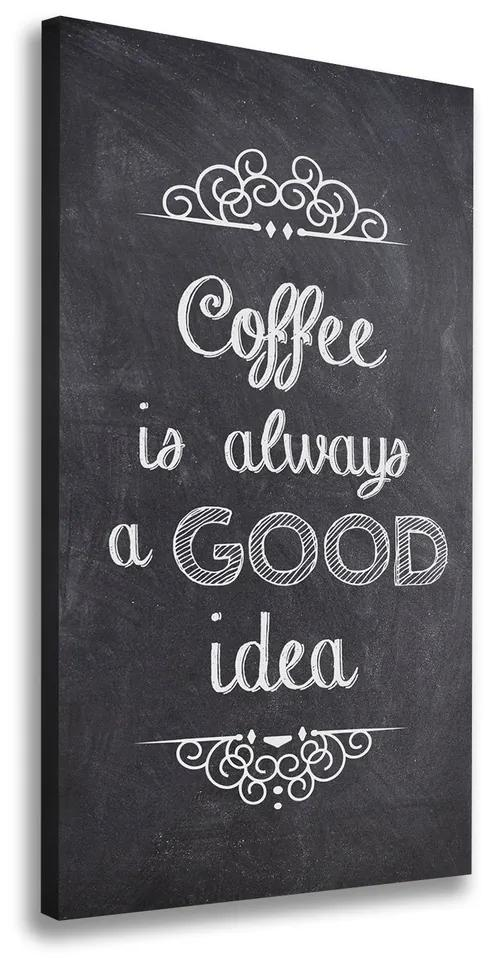 Tablou canvas Colaj de cafea