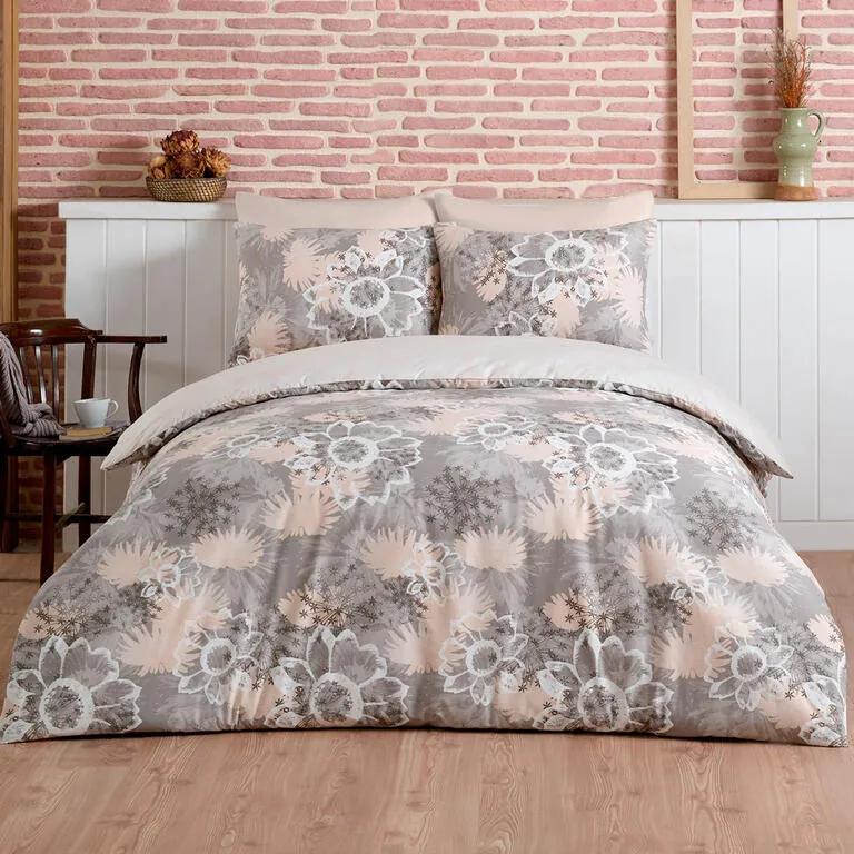 Lenjerie de pat din bumbac MIRAGE pat franțuzesc