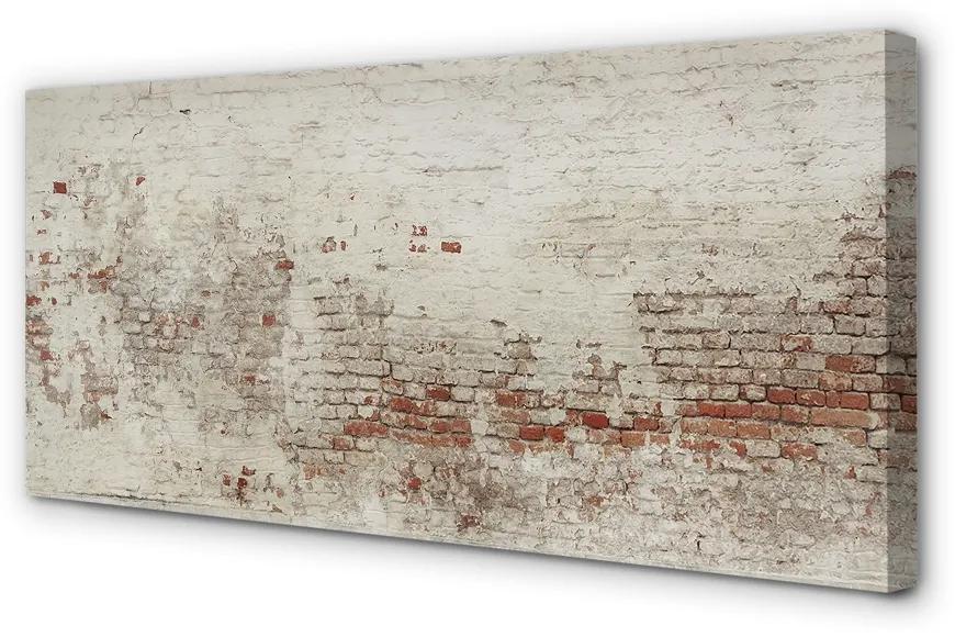 Tablouri canvas Tablouri canvas caramida perete Vintage