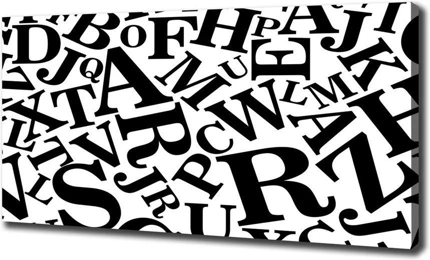 Pictură pe pânză Alfabet
