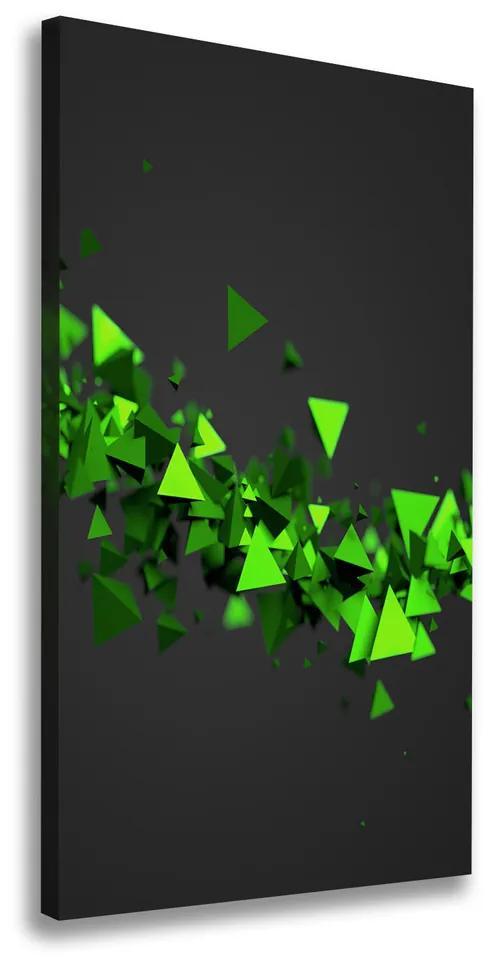 Tablou pe pânză canvas Val geometric