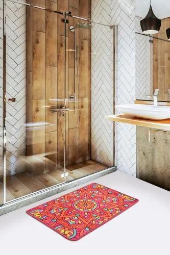 Covoras pentru baie Mandal Multicolor, 40 x 60 cm